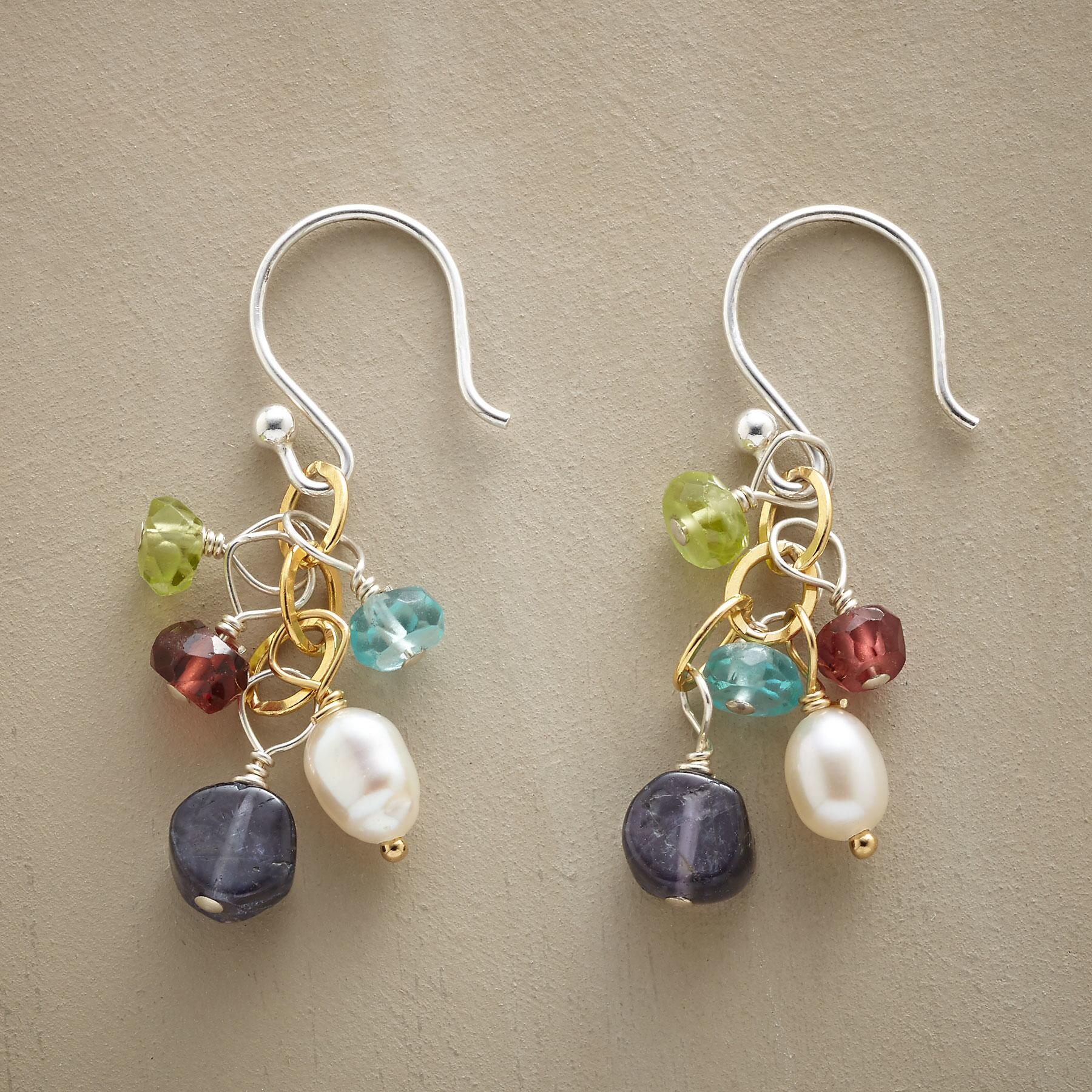 DREAM IN BLUE EARRINGS: View 1
