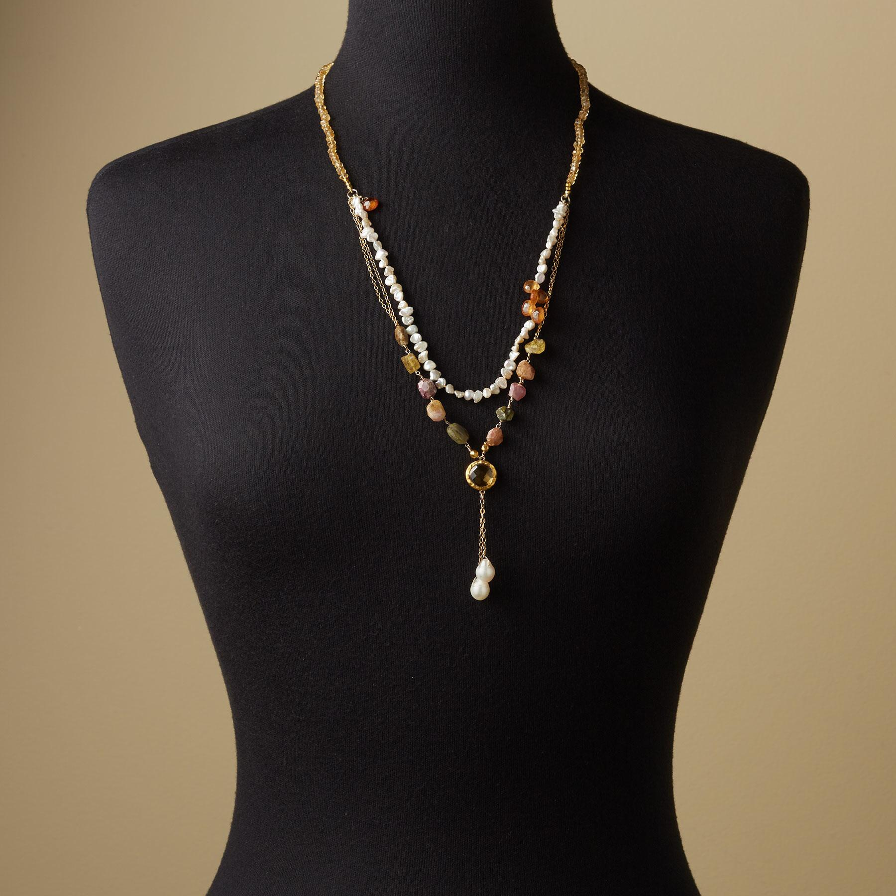 SUNLIGHT AND PEARLS NECKLACE: View 4