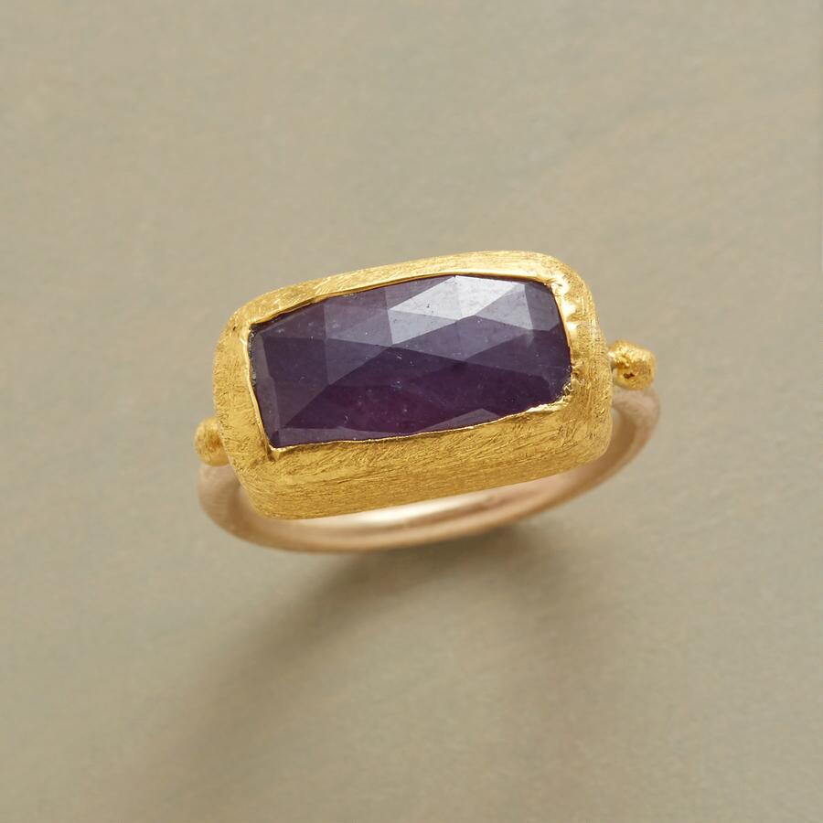 WRAPPED RUBY RING