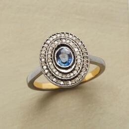 SAPPHIRE HOVERING GEMSTONE RING