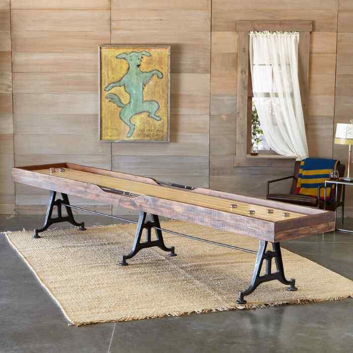 CLASSIC LARGE SHUFFLEBOARD TABLE