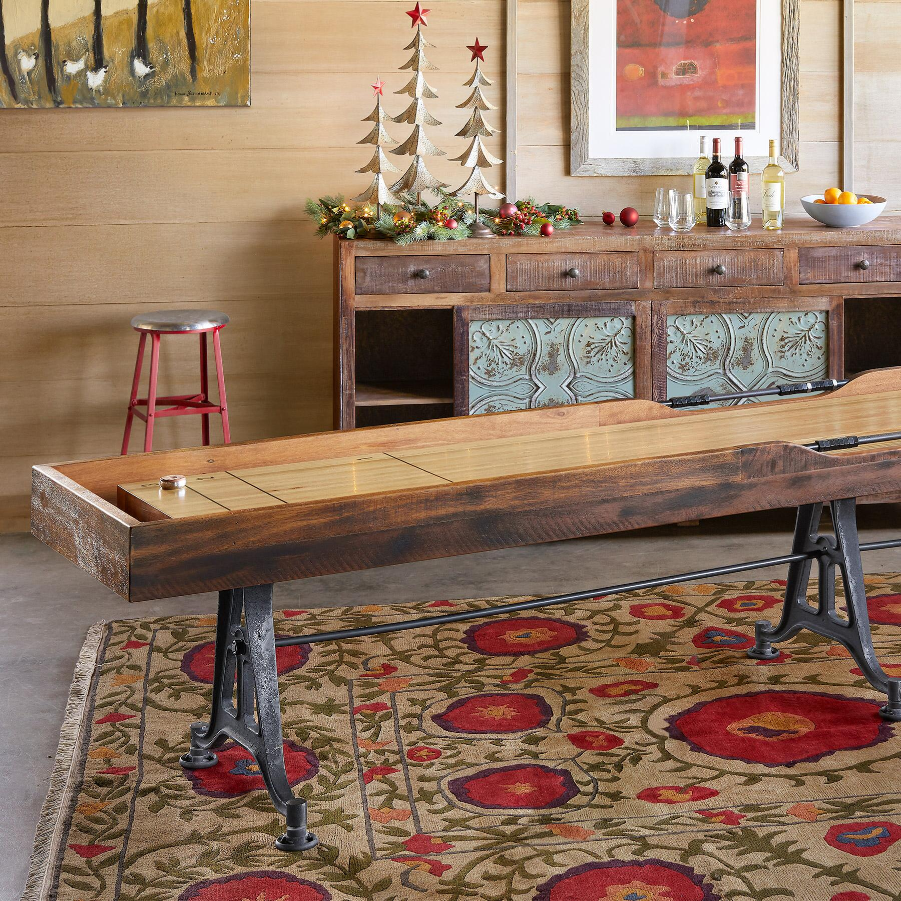 CLASSIC LARGE SHUFFLEBOARD TABLE: View 5