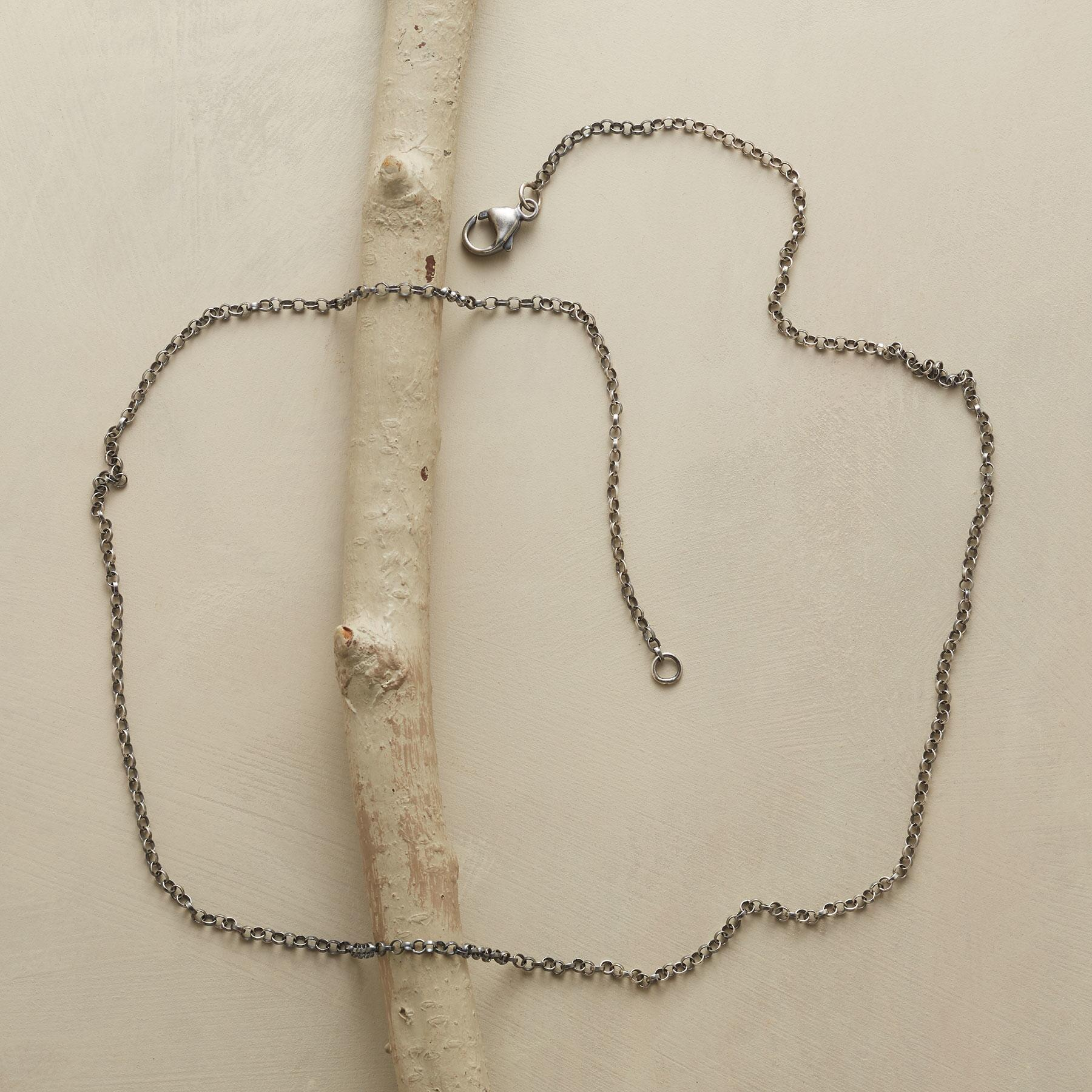 "24"" STERLING SILVER CHAIN CHARMSTARTER NECKLACE: View 2"