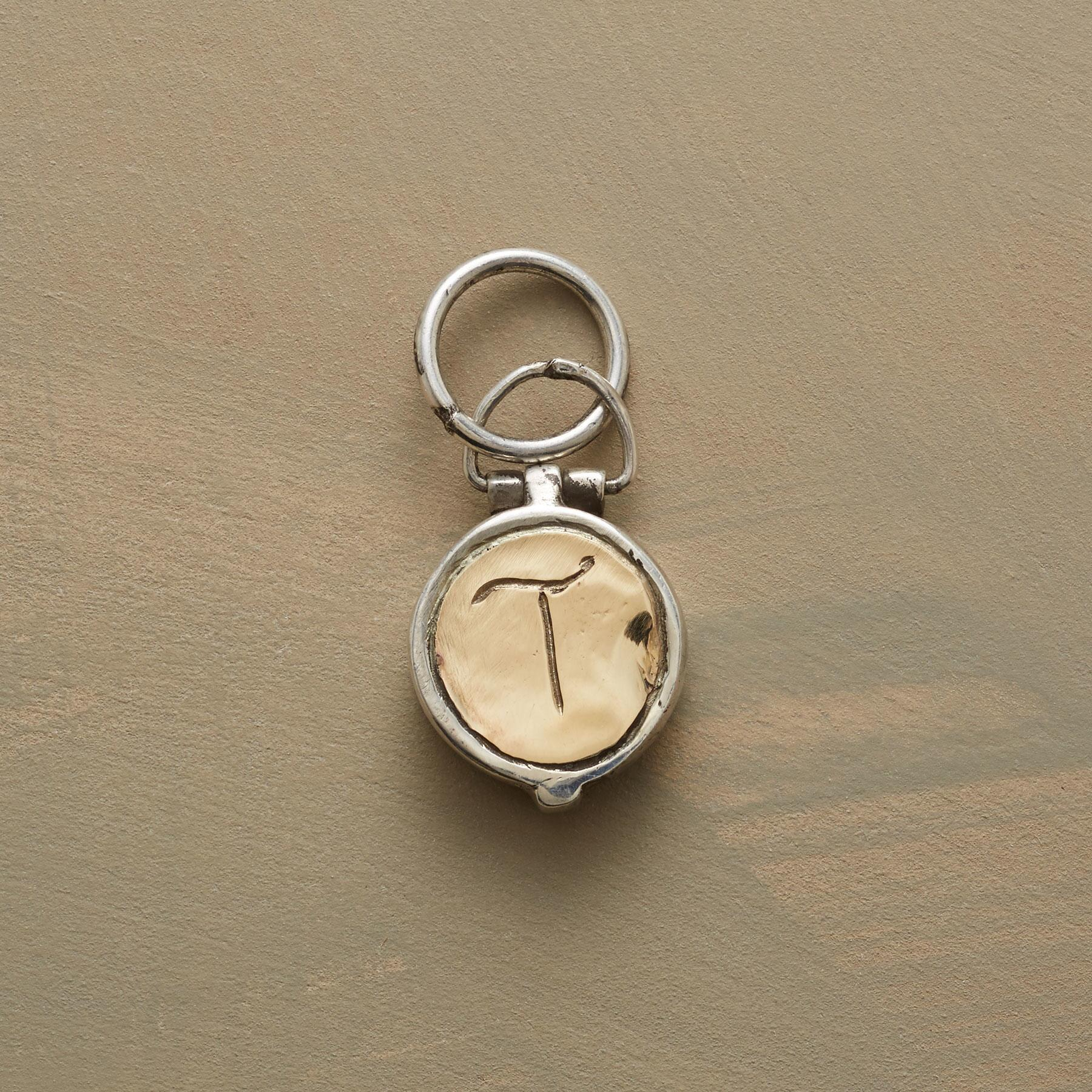 INITIAL LOCKET CHARM: View 1