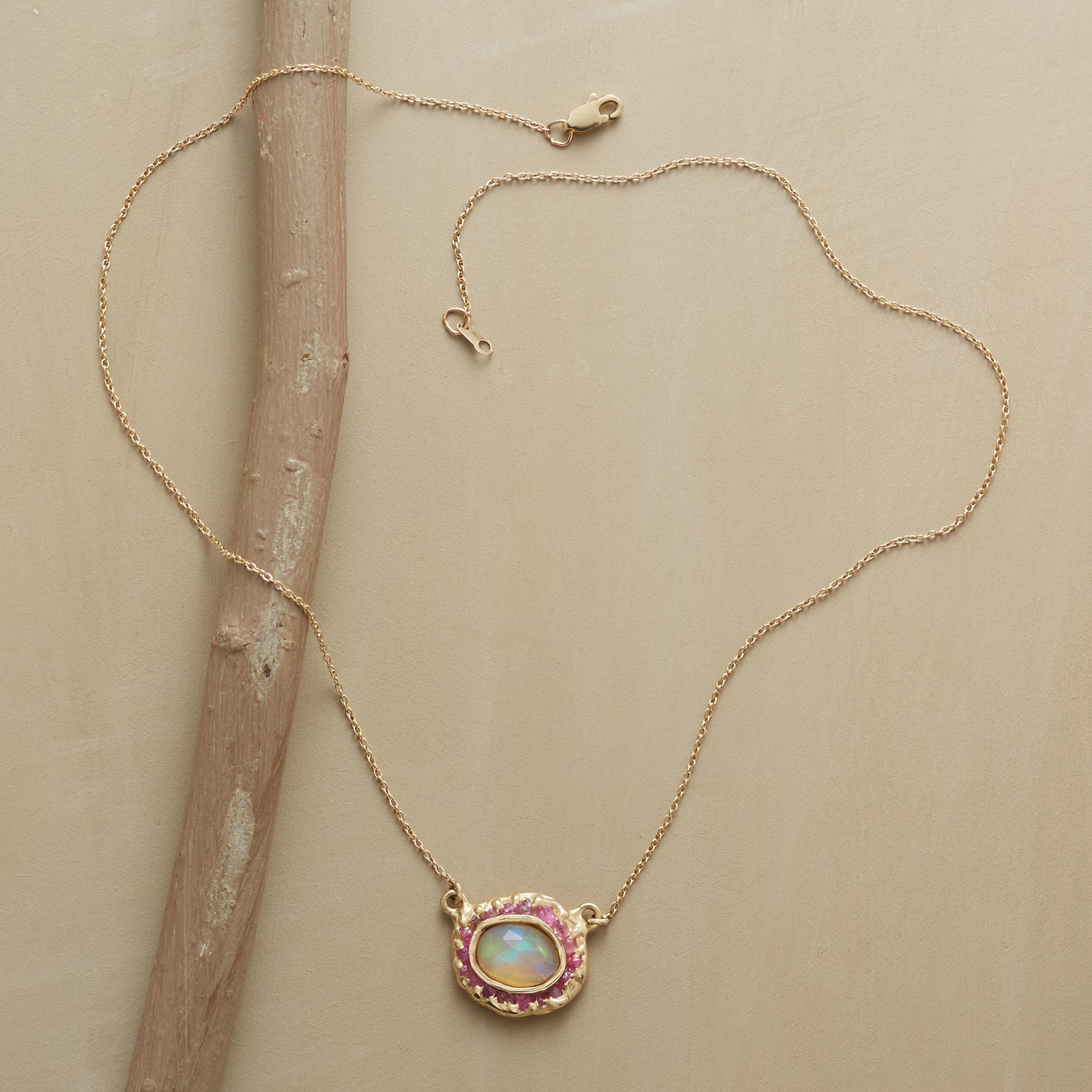 OPAL IN THE MIDDLE NECKLACE: View 2