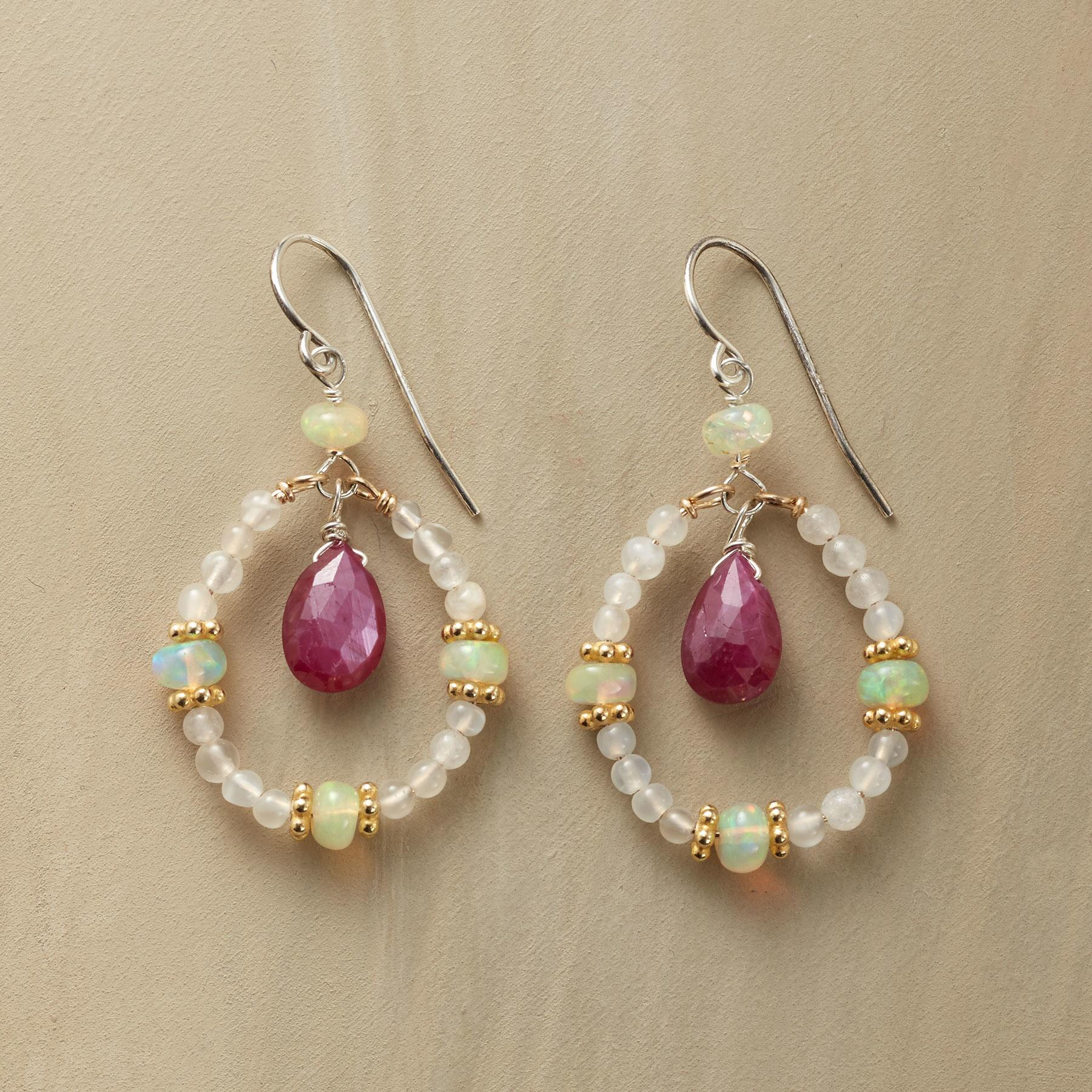 THE FIRE WITHIN EARRINGS: View 1