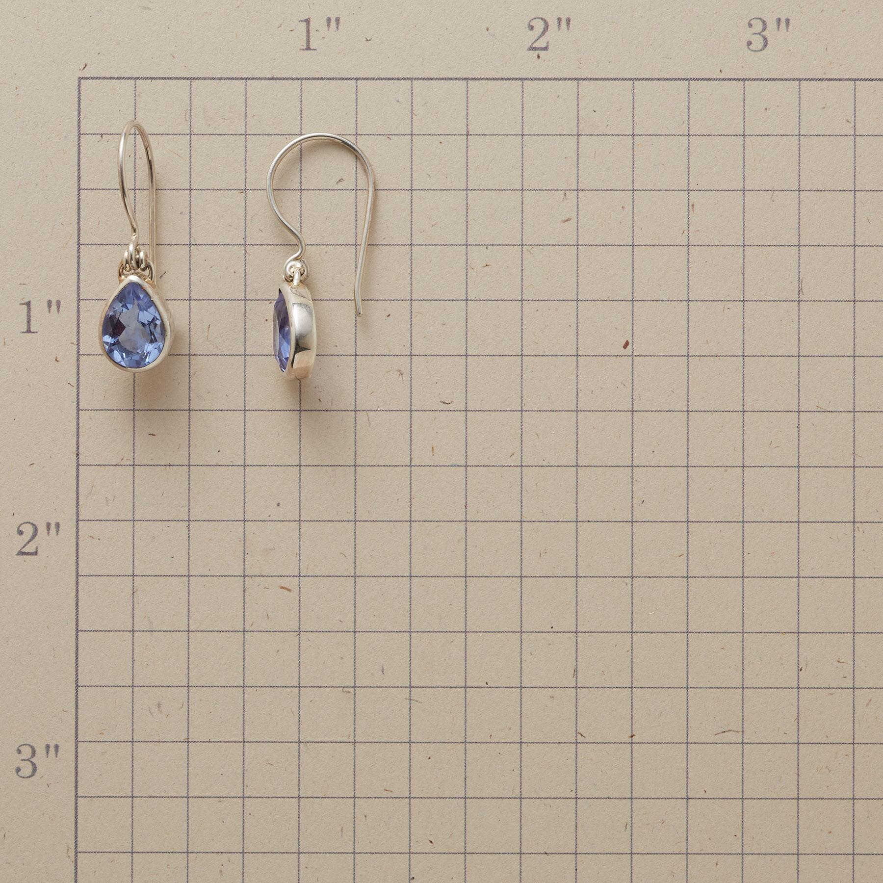 HINGED TO BLUE EARRINGS: View 2
