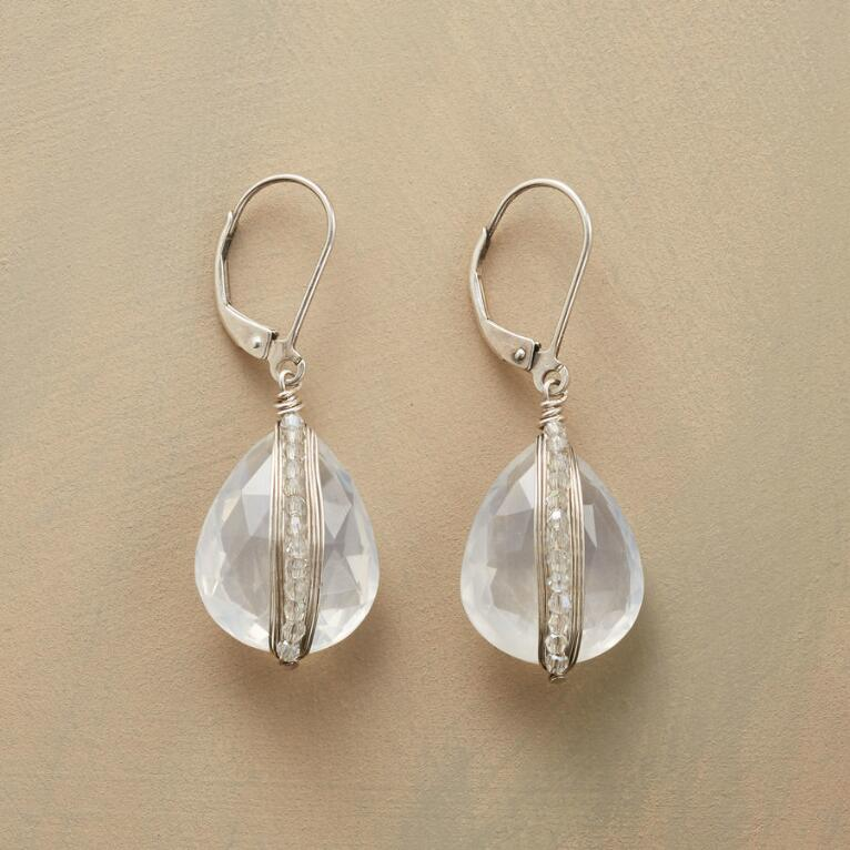 CLEAR VIEW EARRINGS