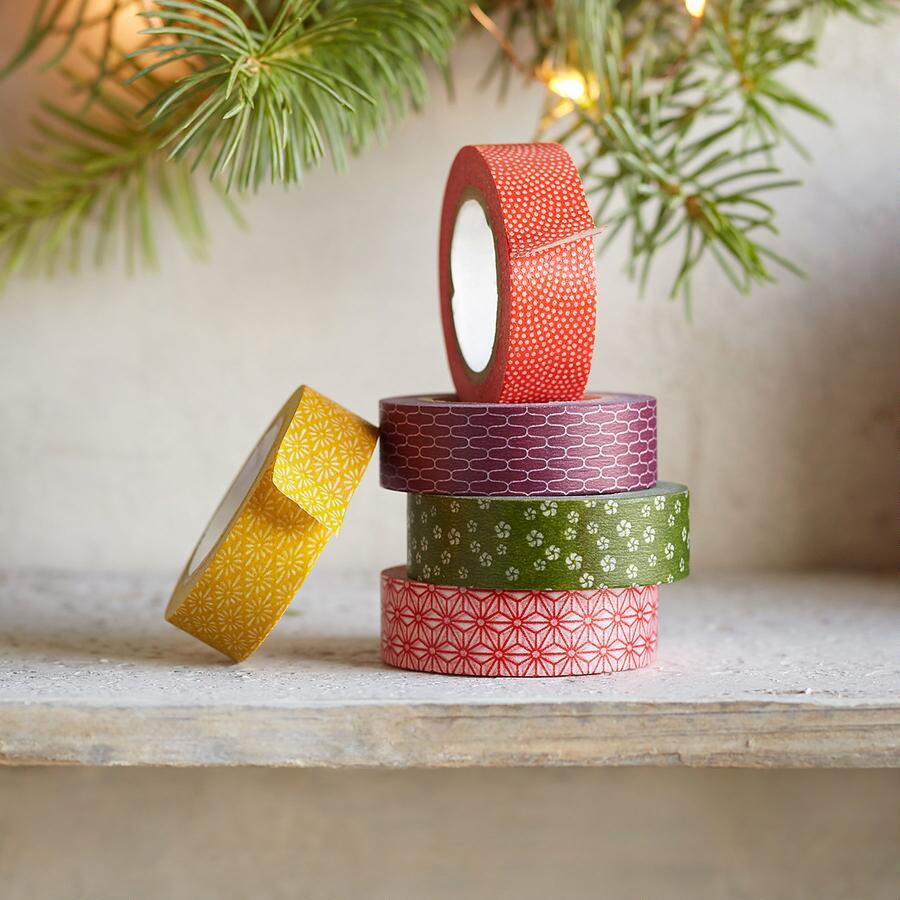 WASHI TAPE, SET OF 5