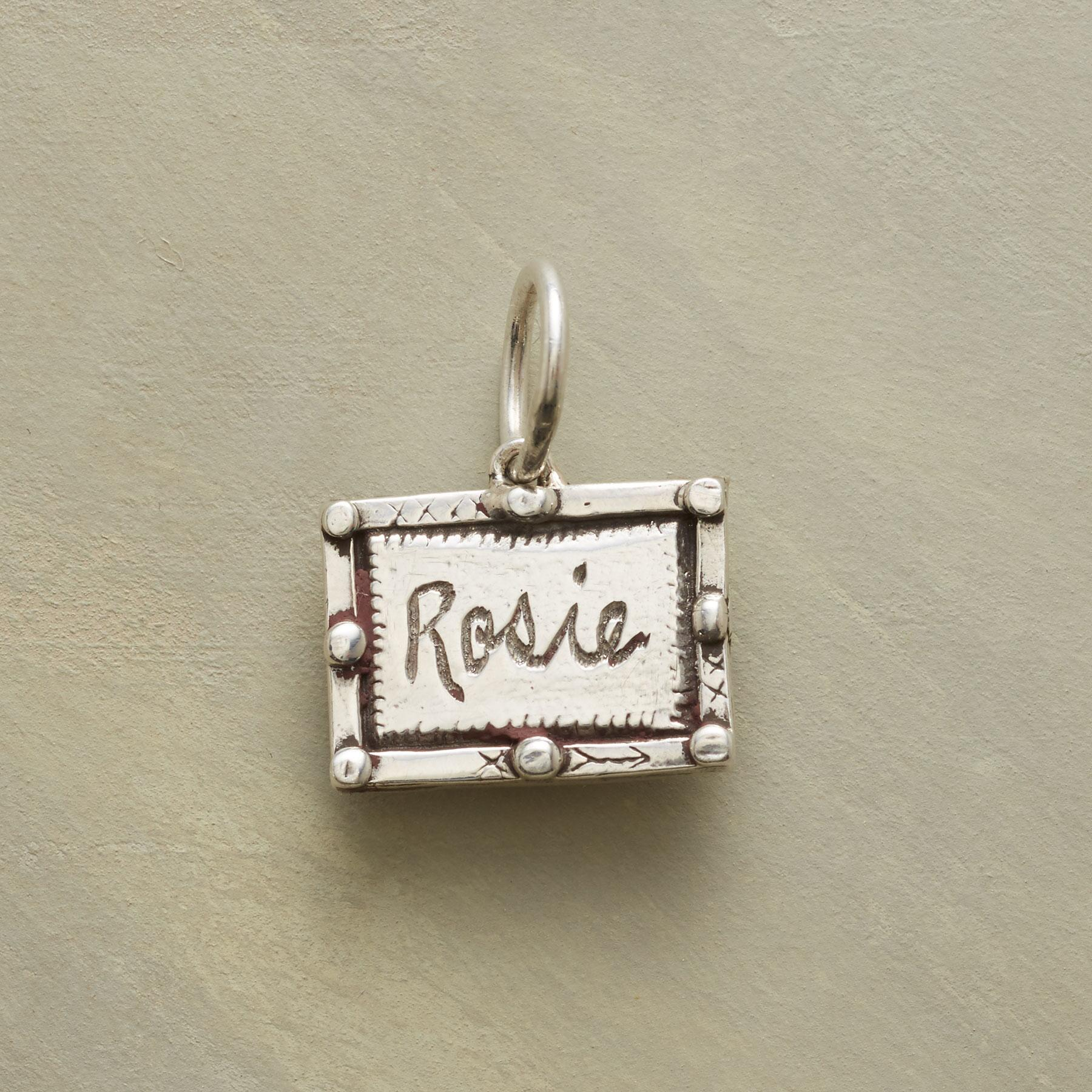 PERSONALIZED STERLING LOVE LIFE CHARM: View 2