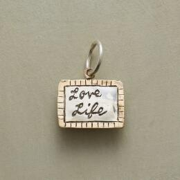 PERSONALIZED LOVE LIFE CHARM