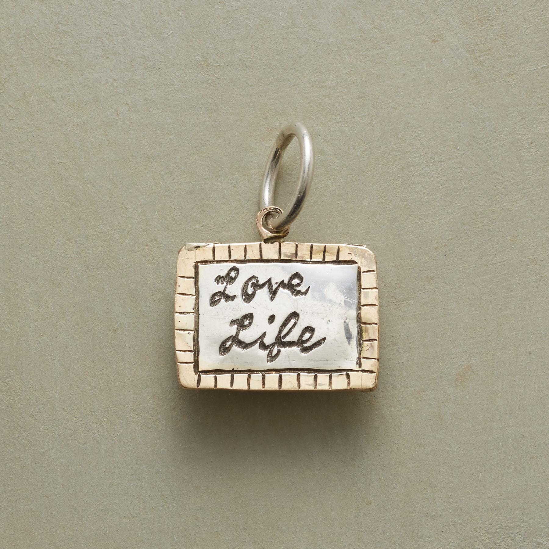 PERSONALIZED LOVE LIFE CHARM: View 1