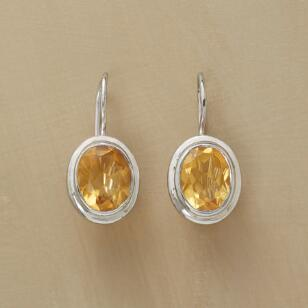 STARRY CITRINE EARRINGS