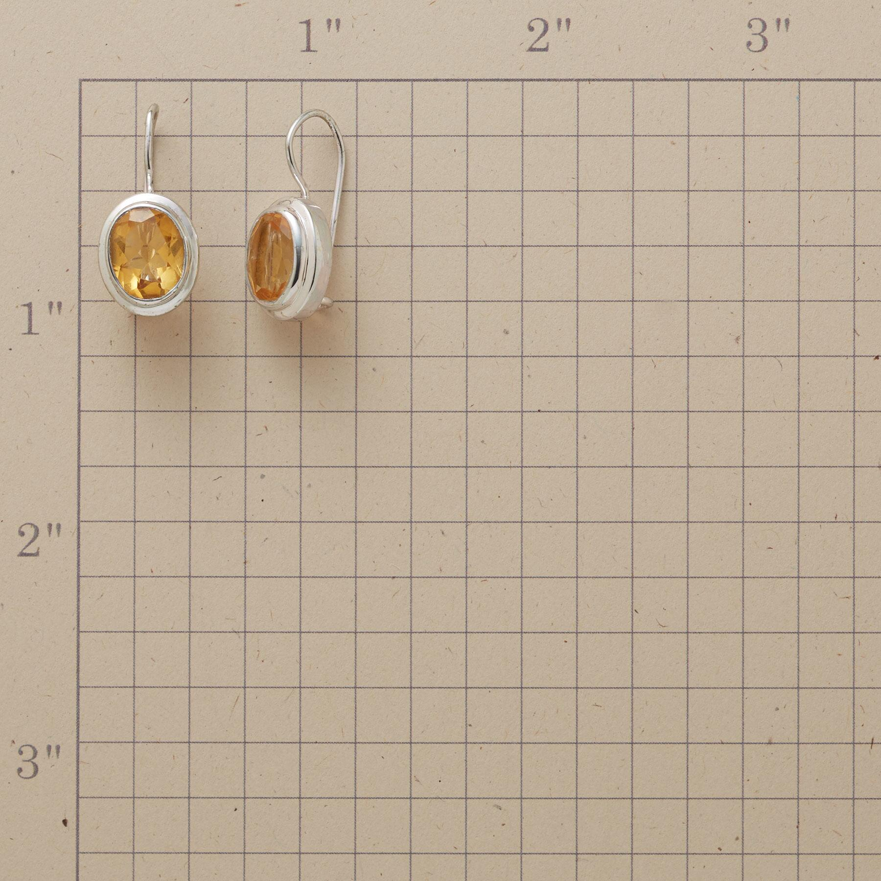 STARRY CITRINE EARRINGS: View 2