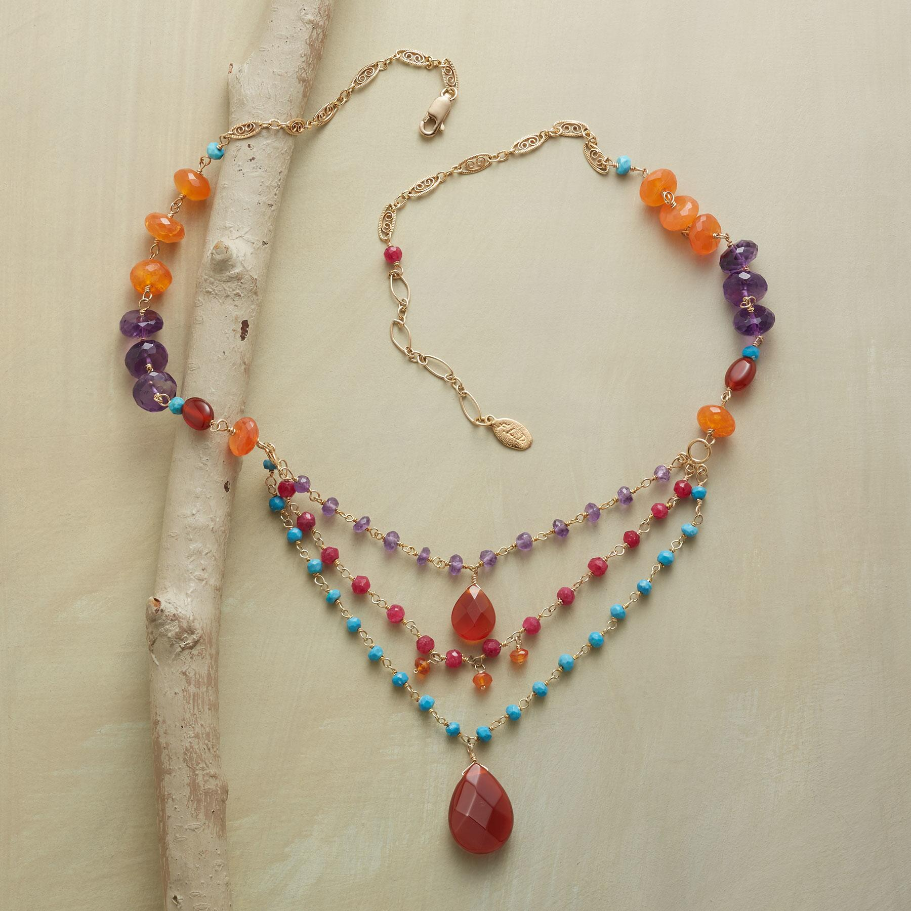 CARNELIAN AND COMPANY NECKLACE: View 2
