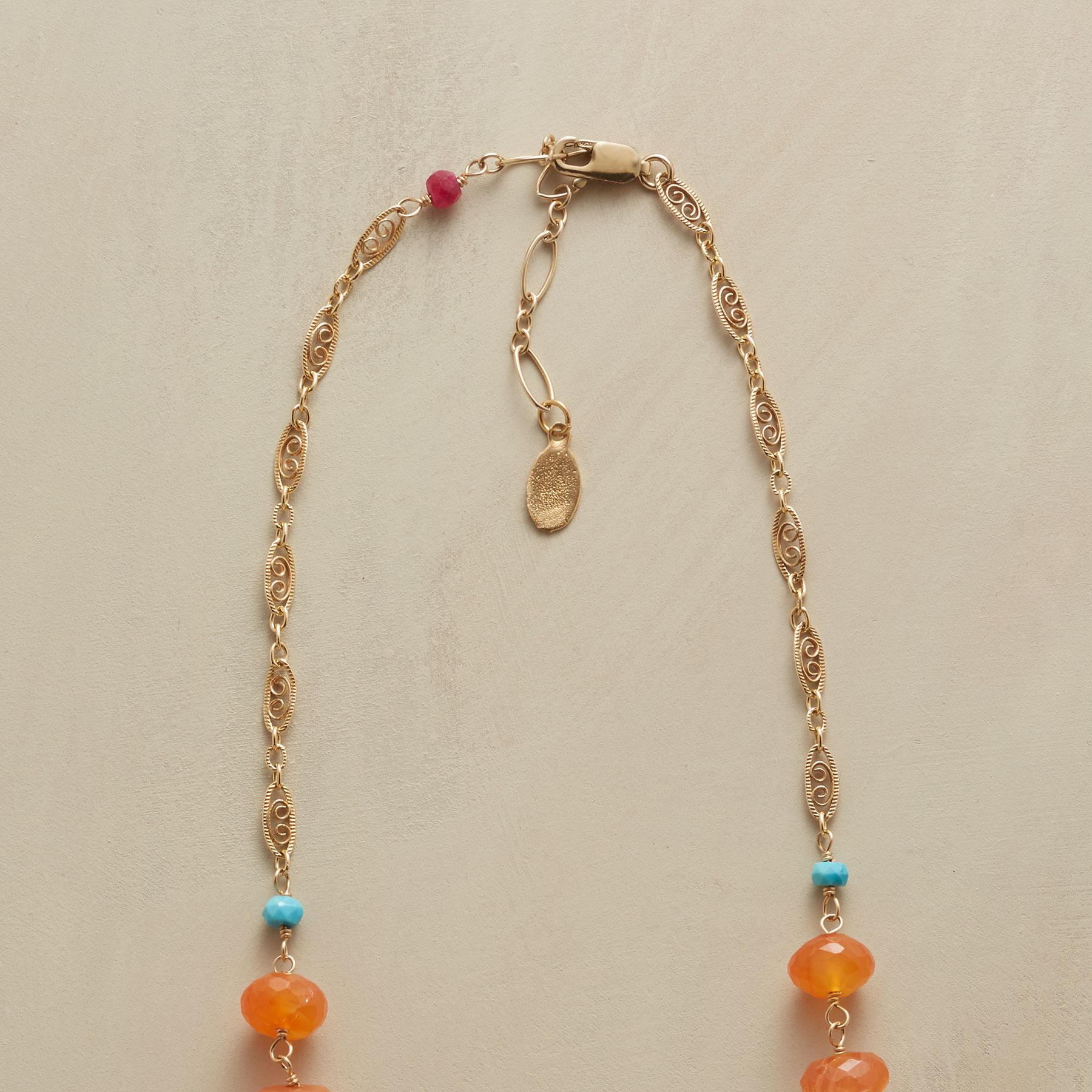 CARNELIAN AND COMPANY NECKLACE: View 3