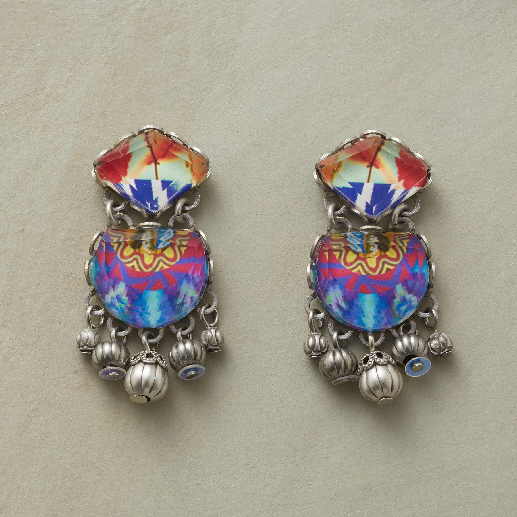 TURKISH TILE EARRINGS: View 1