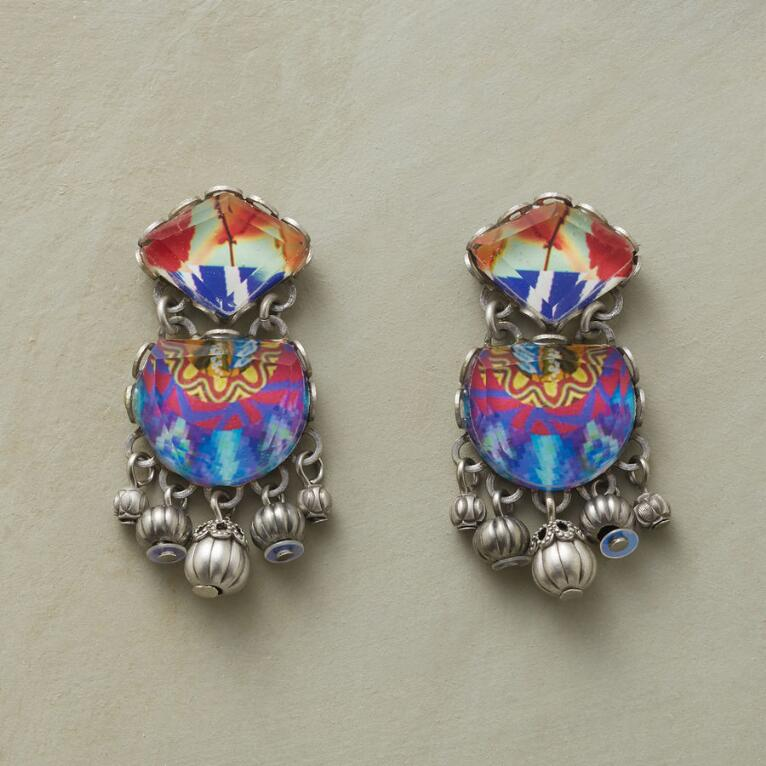 TURKISH TILE EARRINGS