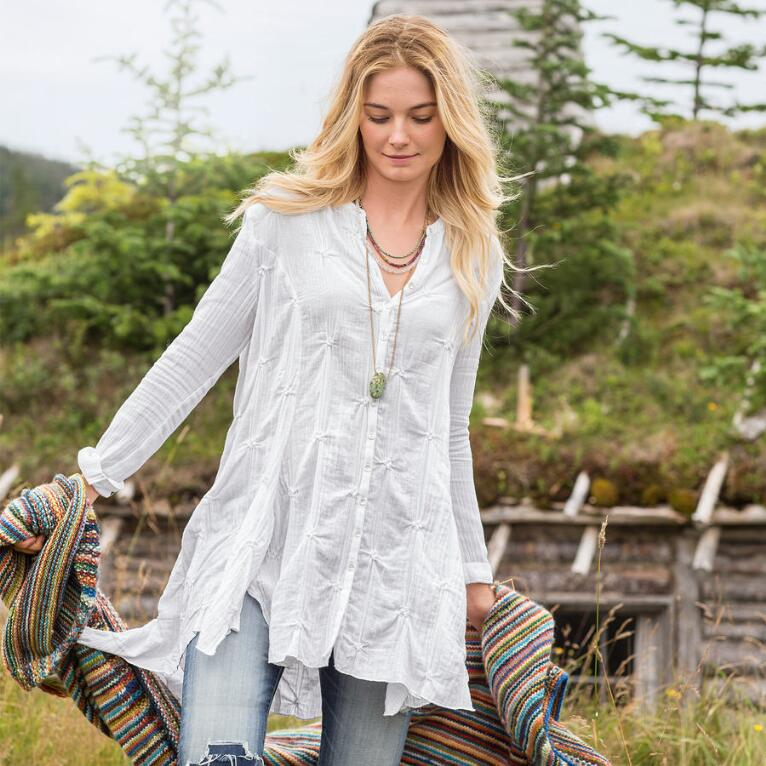 MOUNTAIN FLOWER TUNIC