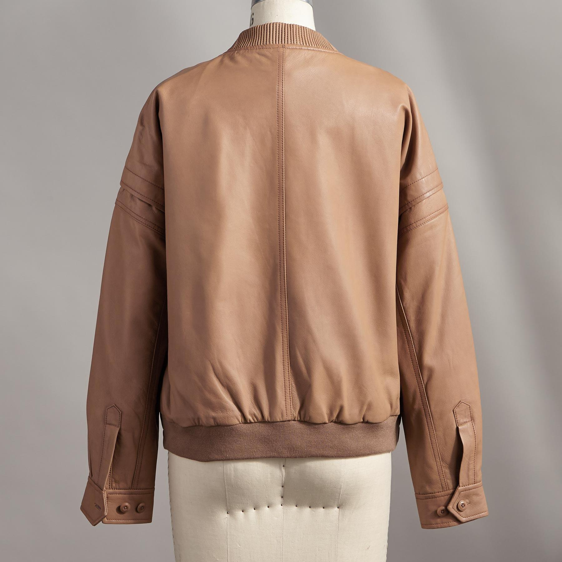 LEXIE LEATHER JACKET: View 2