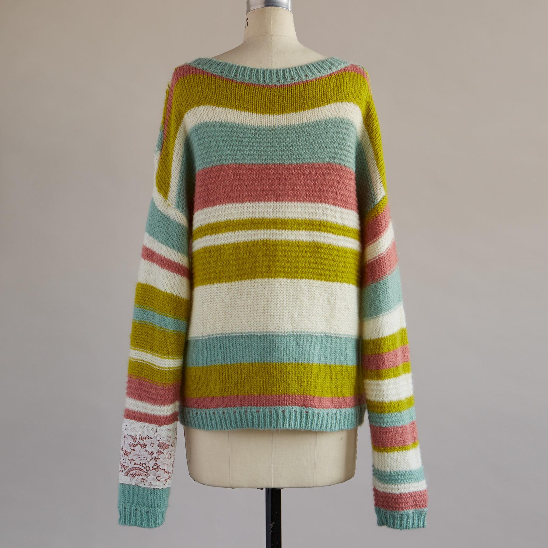 KYLIE PATCHWORK PULLOVER: View 2