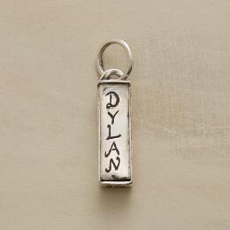 SILVER PERSONALIZED TREASURE BOX CHARM