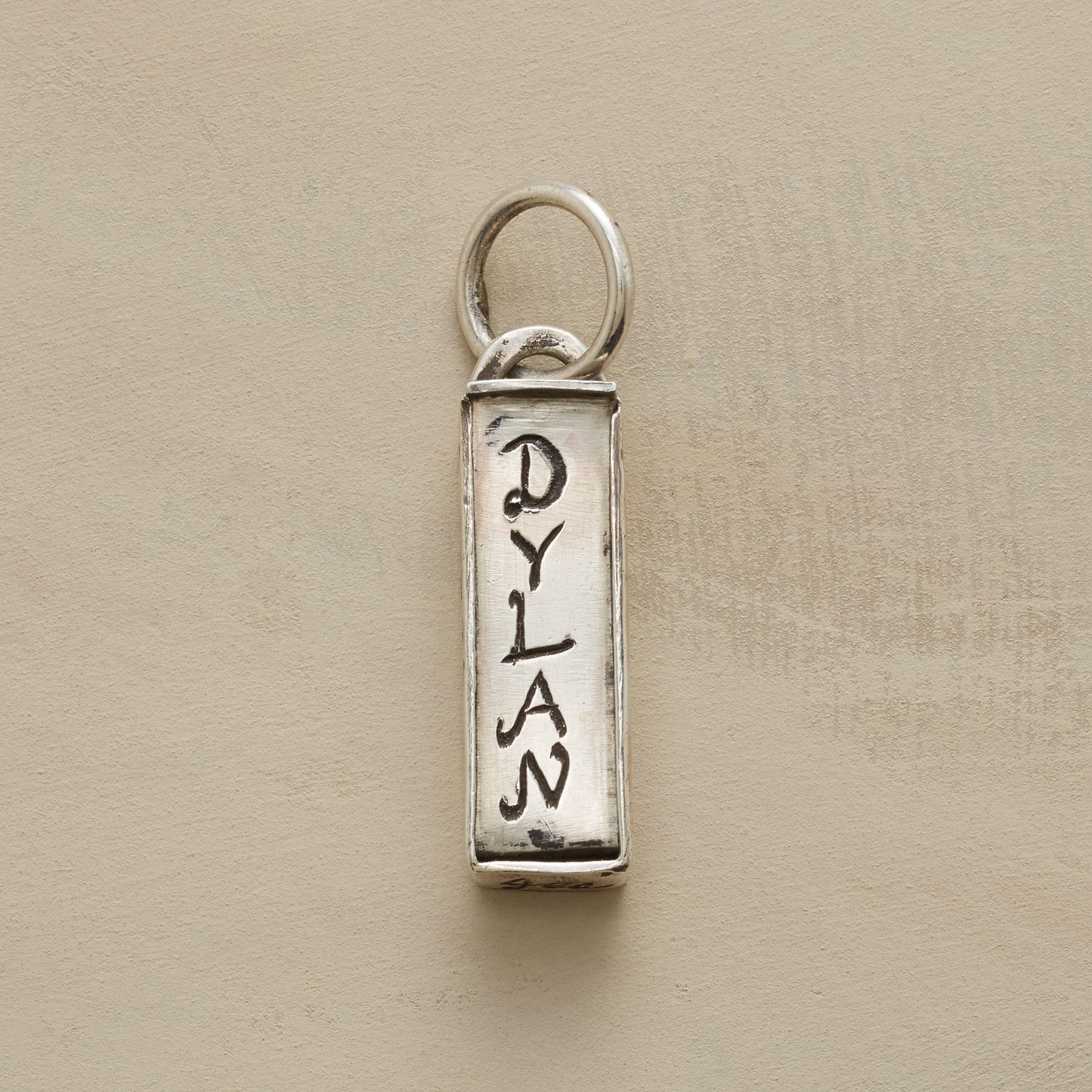 SILVER PERSONALIZED TREASURE BOX CHARM: View 1