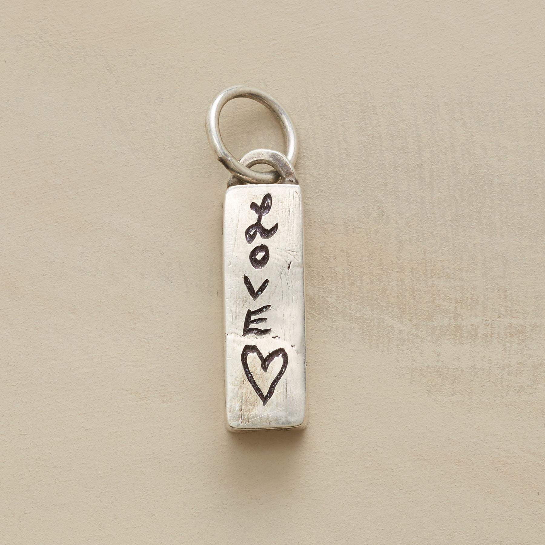 SILVER PERSONALIZED TREASURE BOX CHARM: View 3