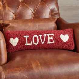 LOVE BOLSTER PILLOW