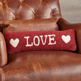LOVE BOLSTER PILLOW