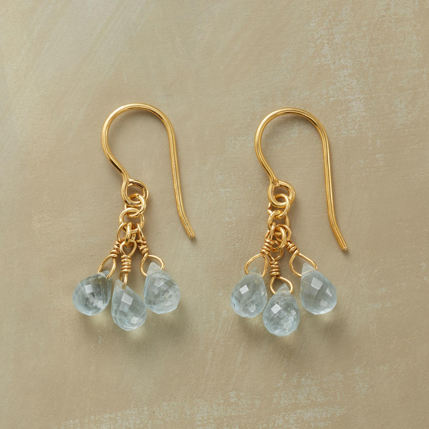 BABY BLUE EARRINGS: View 1