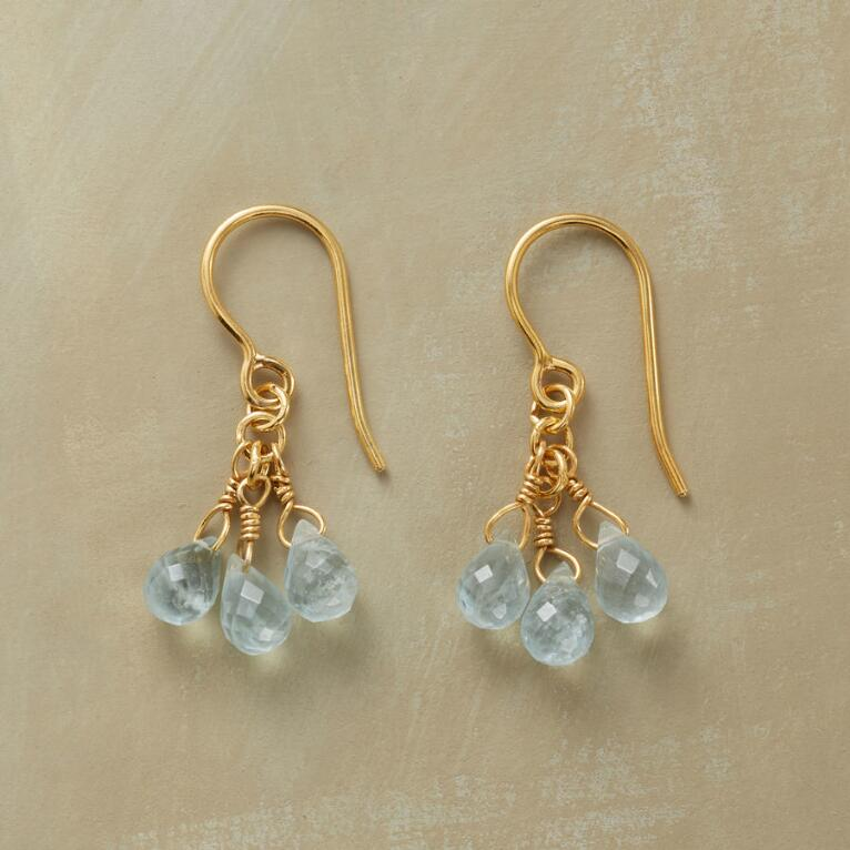 BABY BLUE EARRINGS