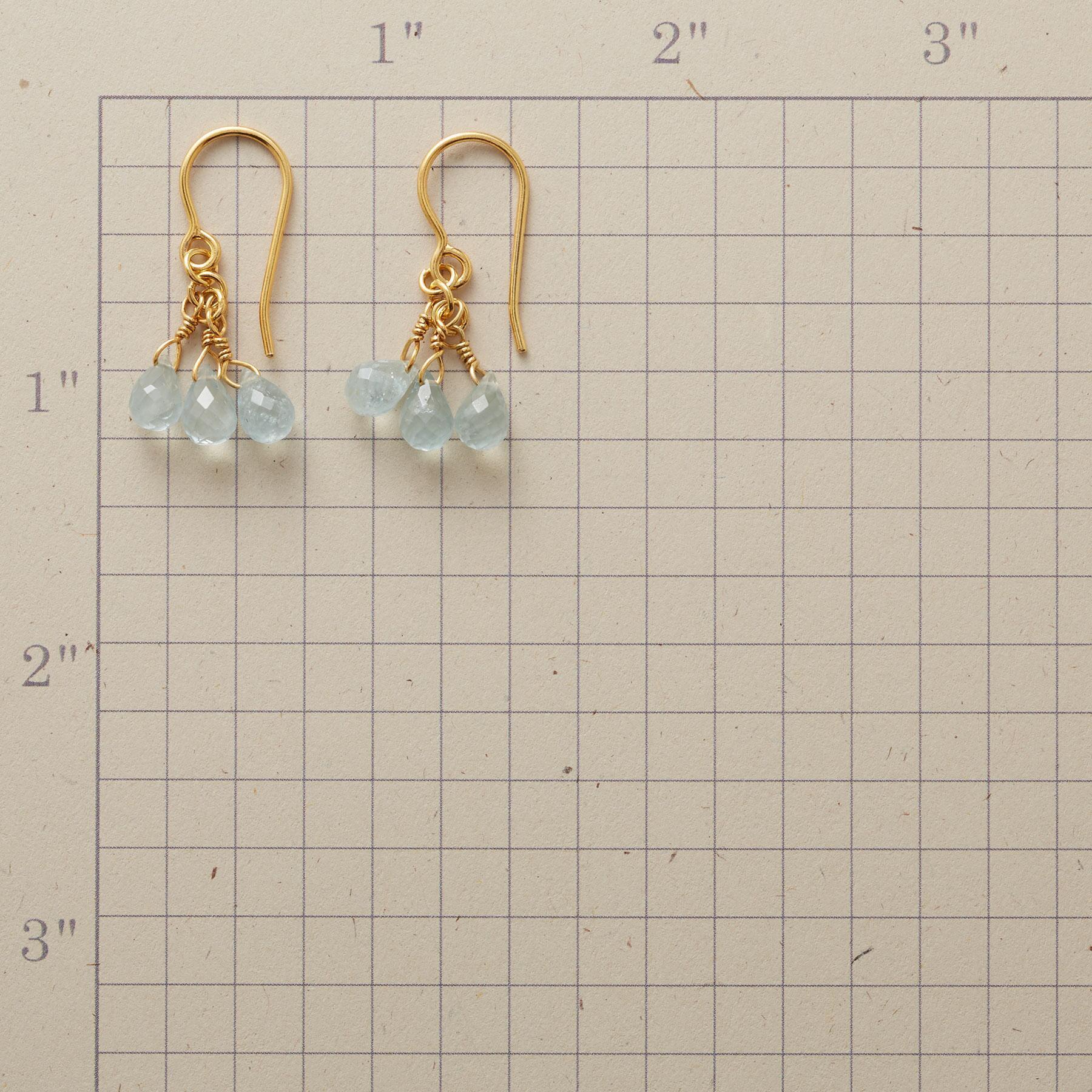 BABY BLUE EARRINGS: View 2