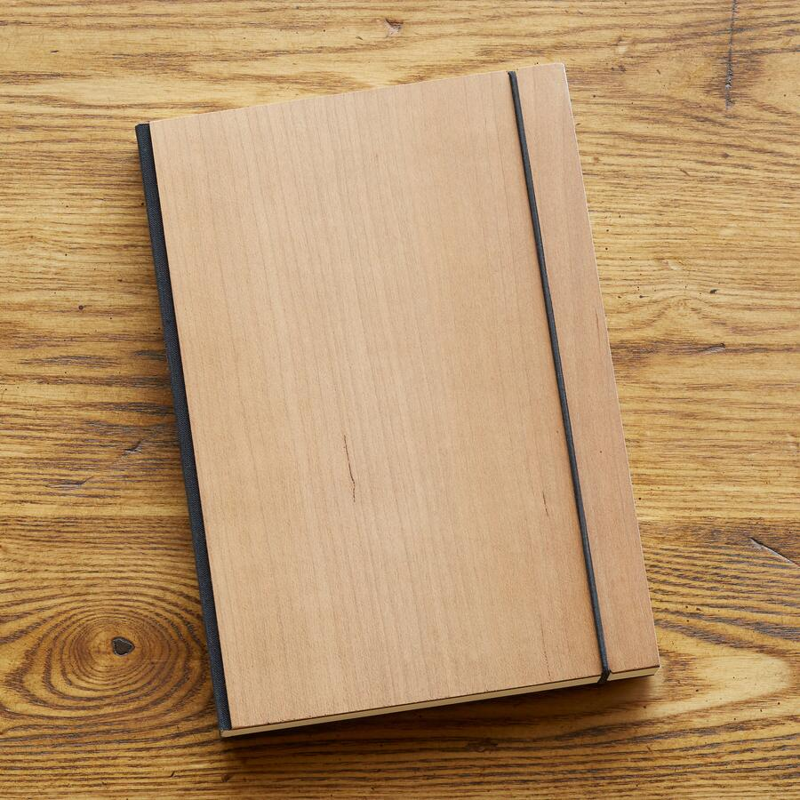 PURIST CHERRY WOOD NOTEBOOK