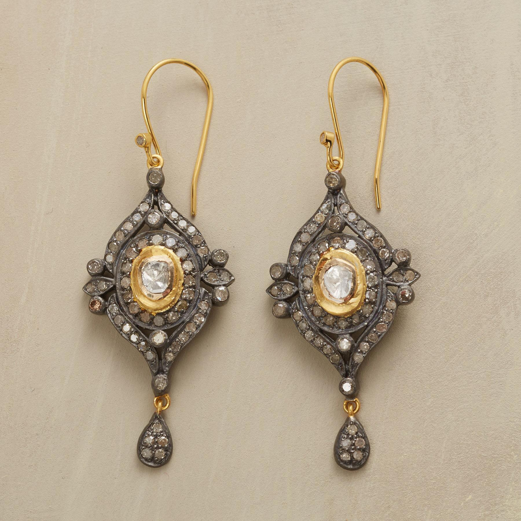 DOROTHEA DIAMOND EARRINGS: View 1