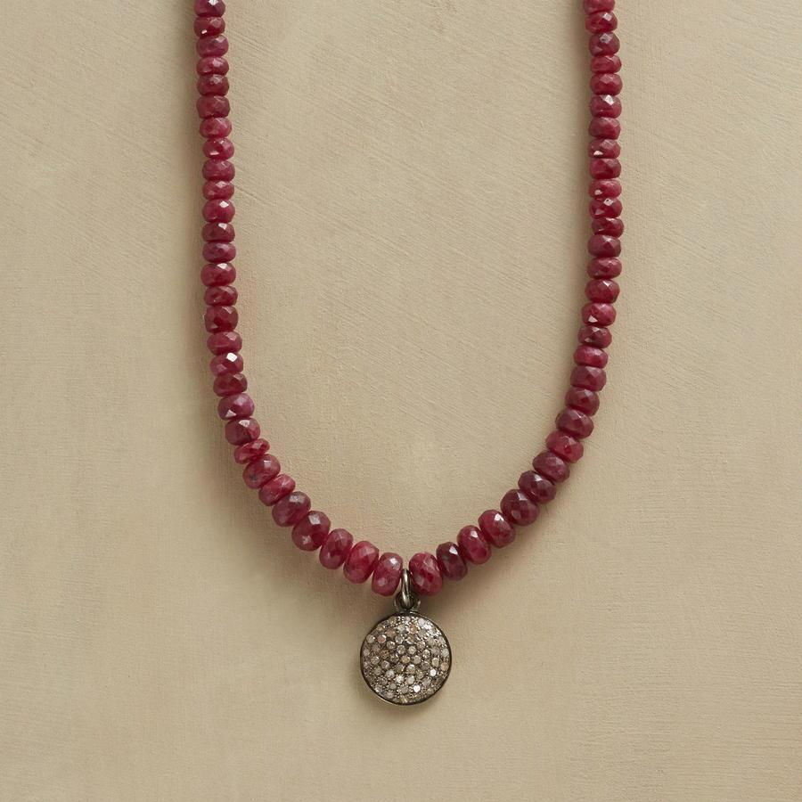 RUBY CENTAURI NECKLACE