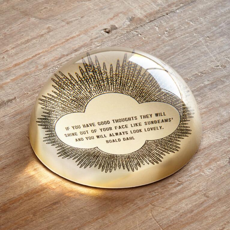 GOOD THOUGHTS PAPERWEIGHT
