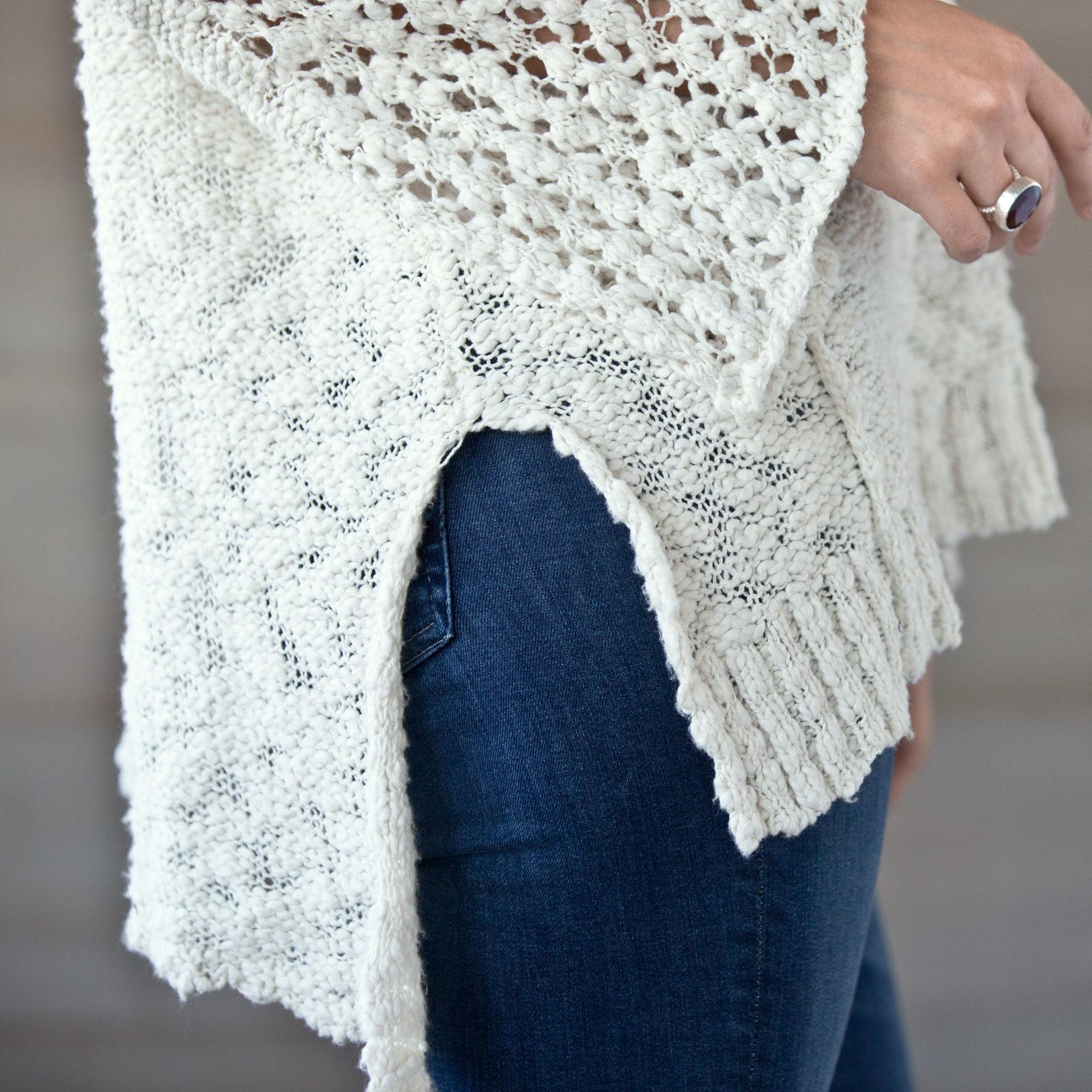 PRETTY POINTELLE SWEATER: View 4
