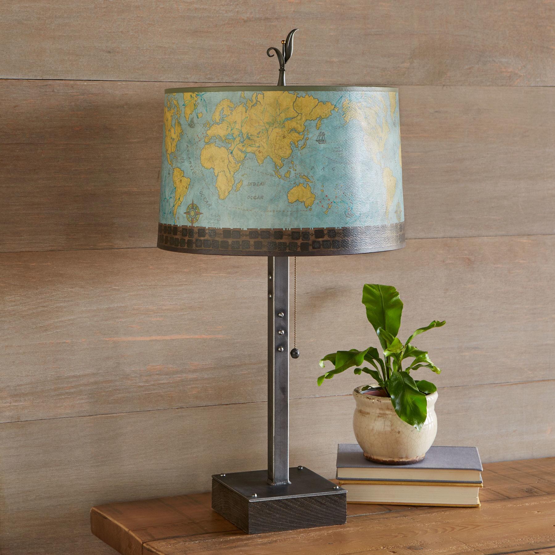JU EXPLORER LARGE TABLE LAMP: View 1