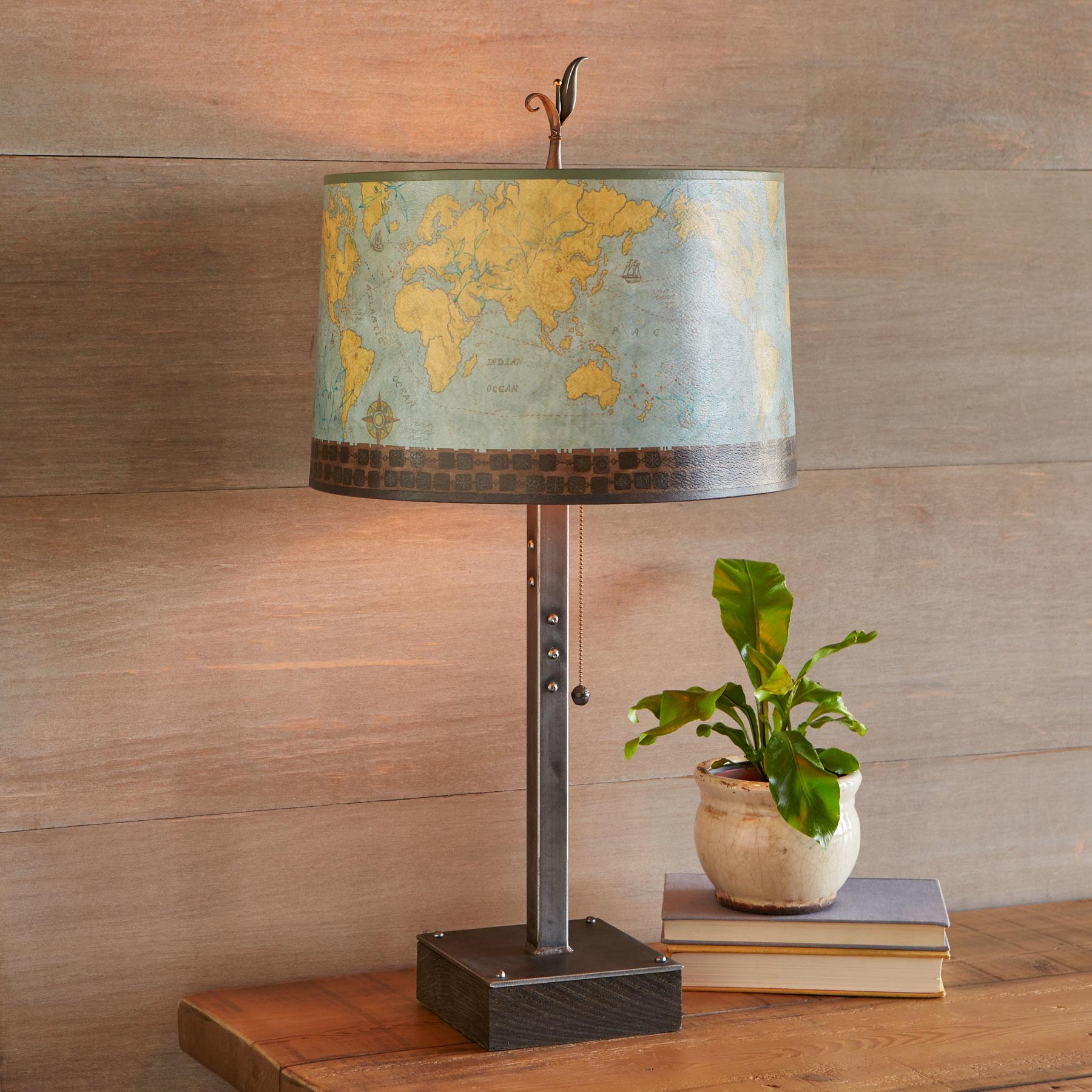 JU EXPLORER LARGE TABLE LAMP: View 2