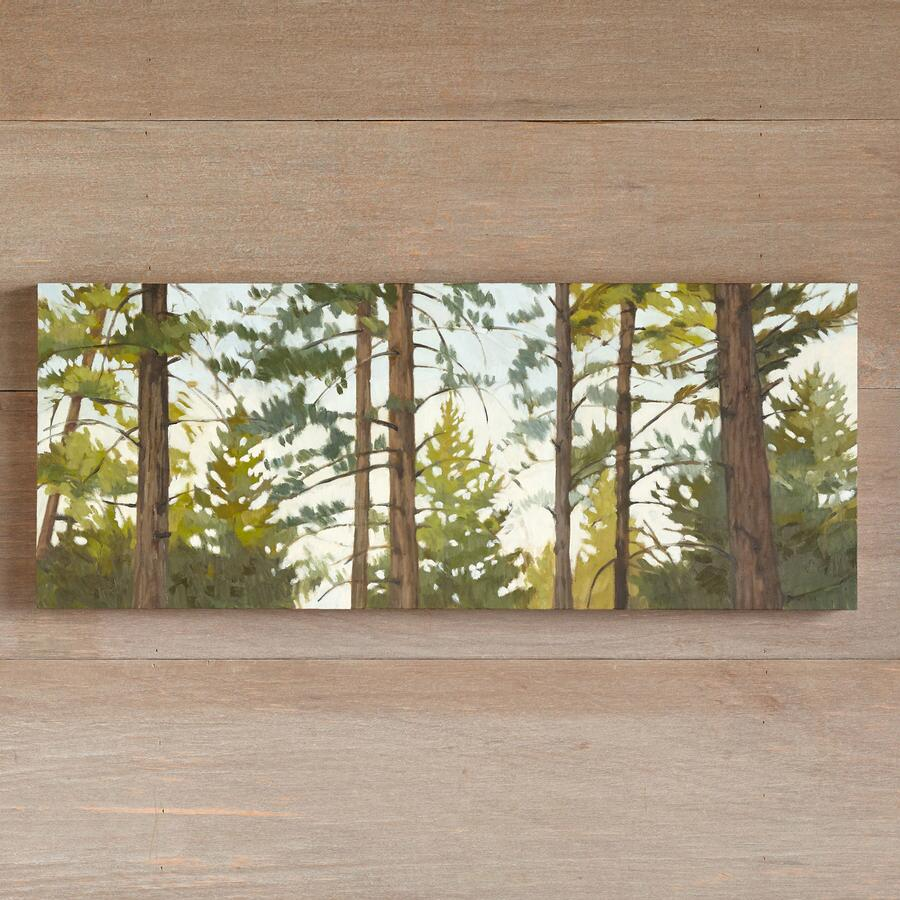 AFTERNOON PINES PAINTING