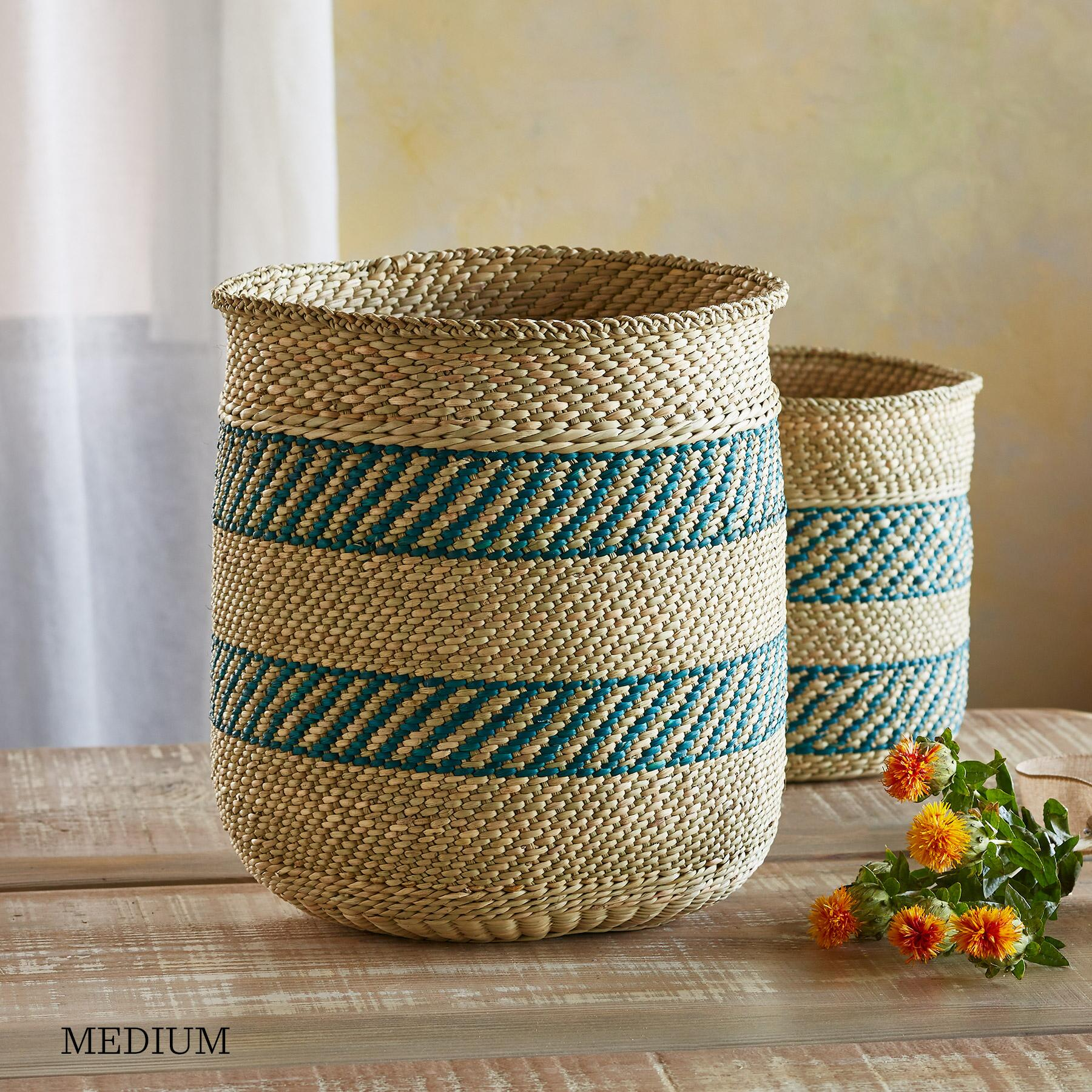 IRINGA STRIPE BASKET: View 3
