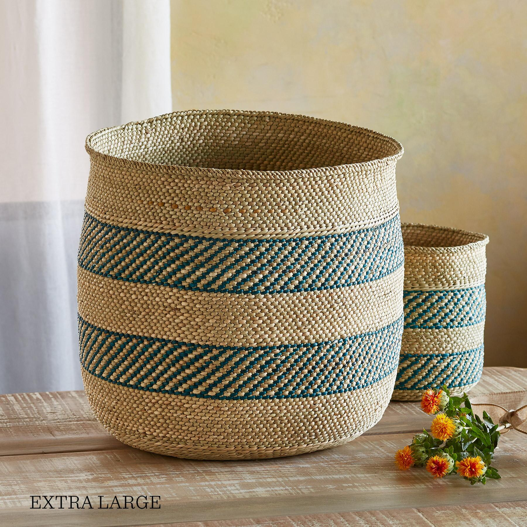 IRINGA STRIPE BASKET: View 5