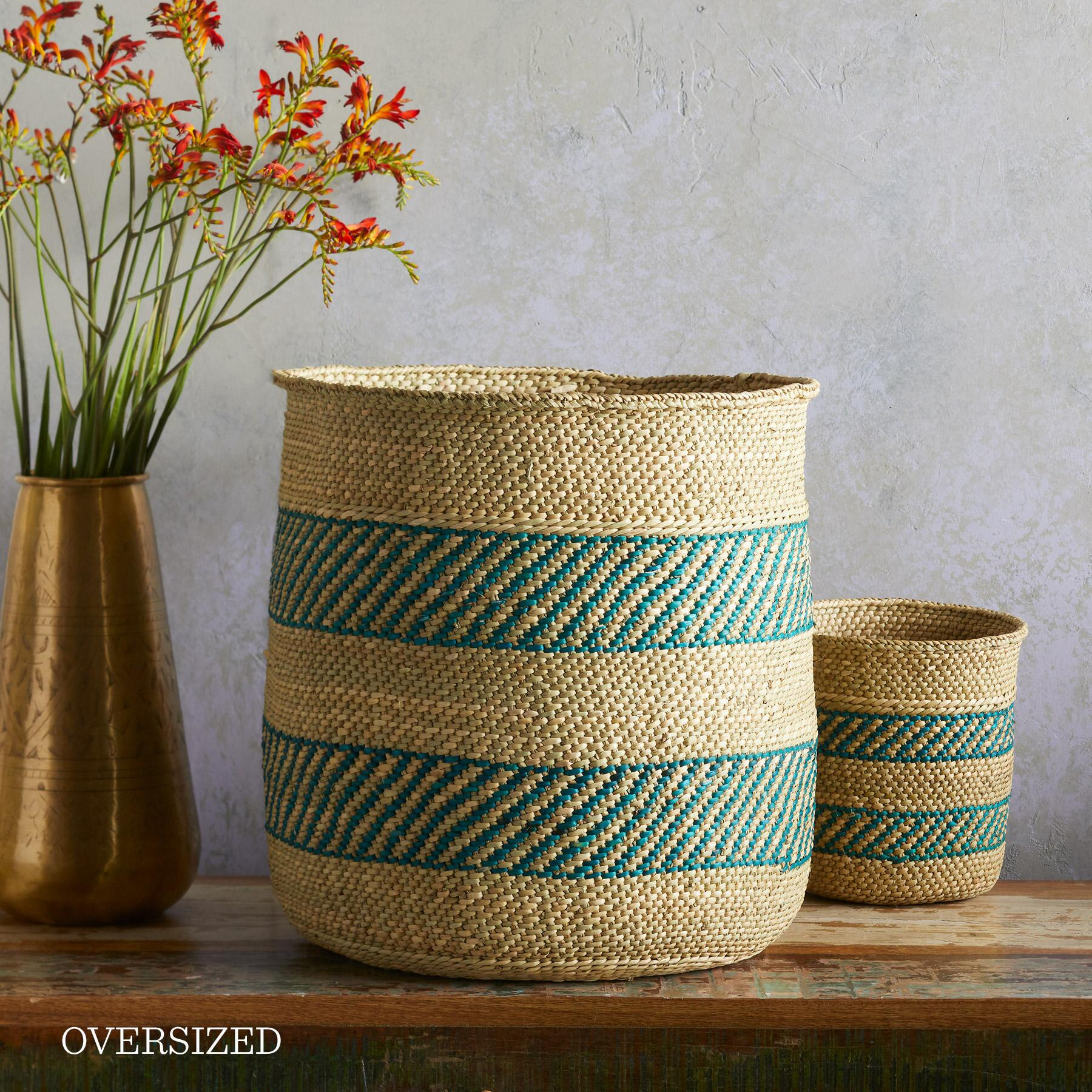 IRINGA STRIPE BASKET: View 6