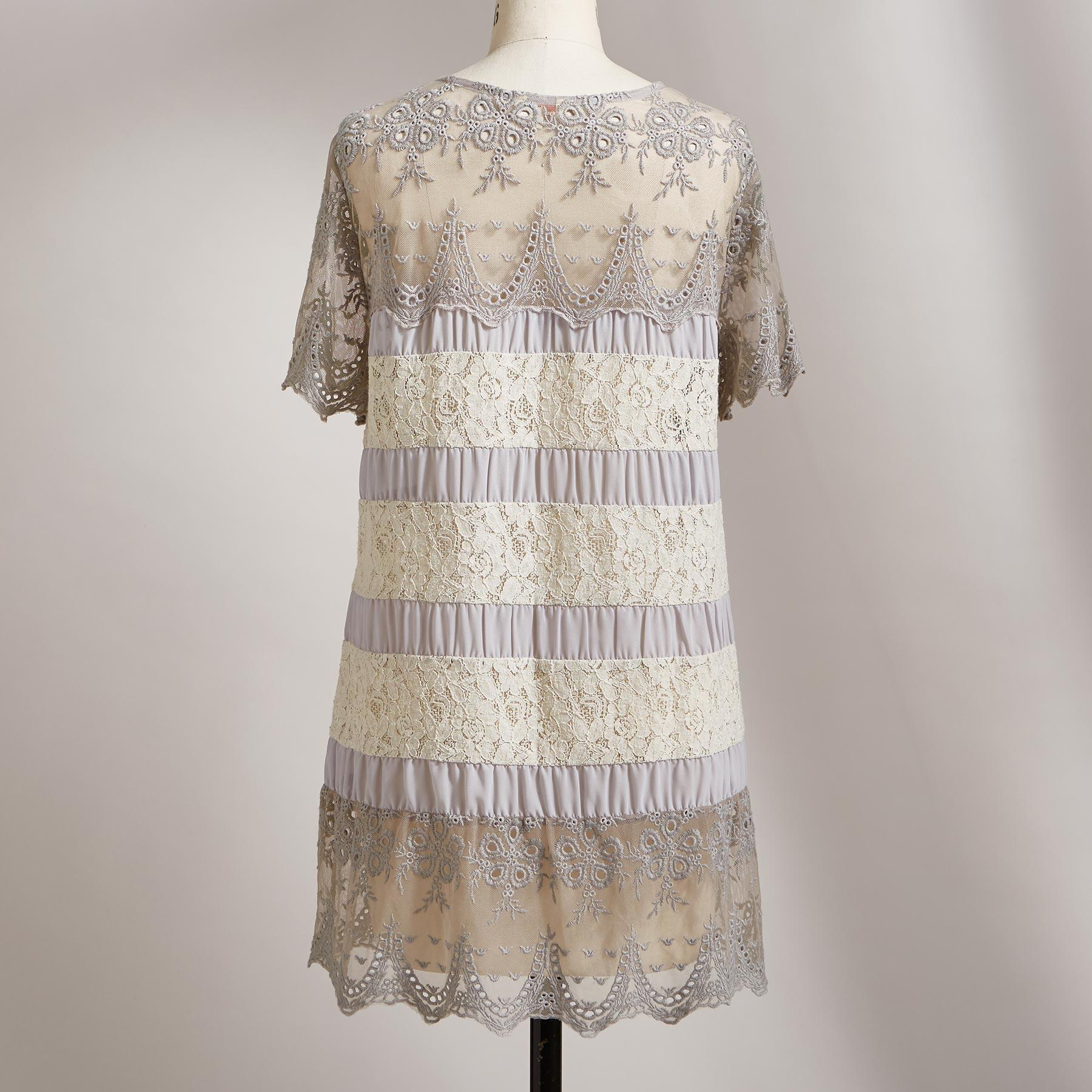 LACE IN BLOOM TUNIC: View 2