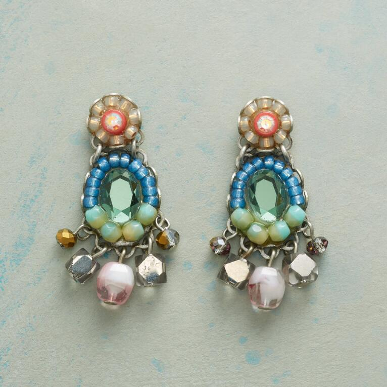 MERMAID MIRROR EARRINGS