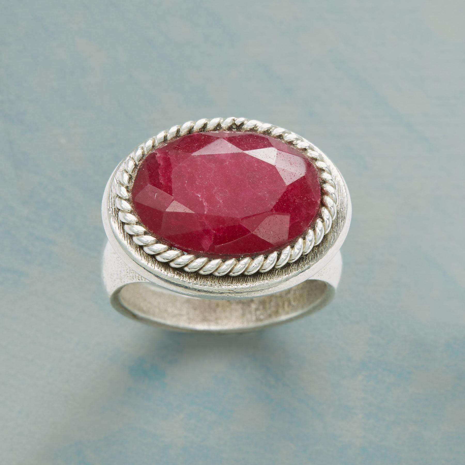 FOREVER RUBY RING  : View 1