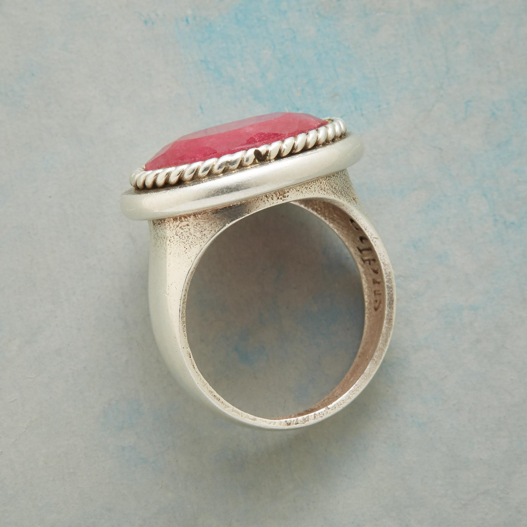 FOREVER RUBY RING  : View 2