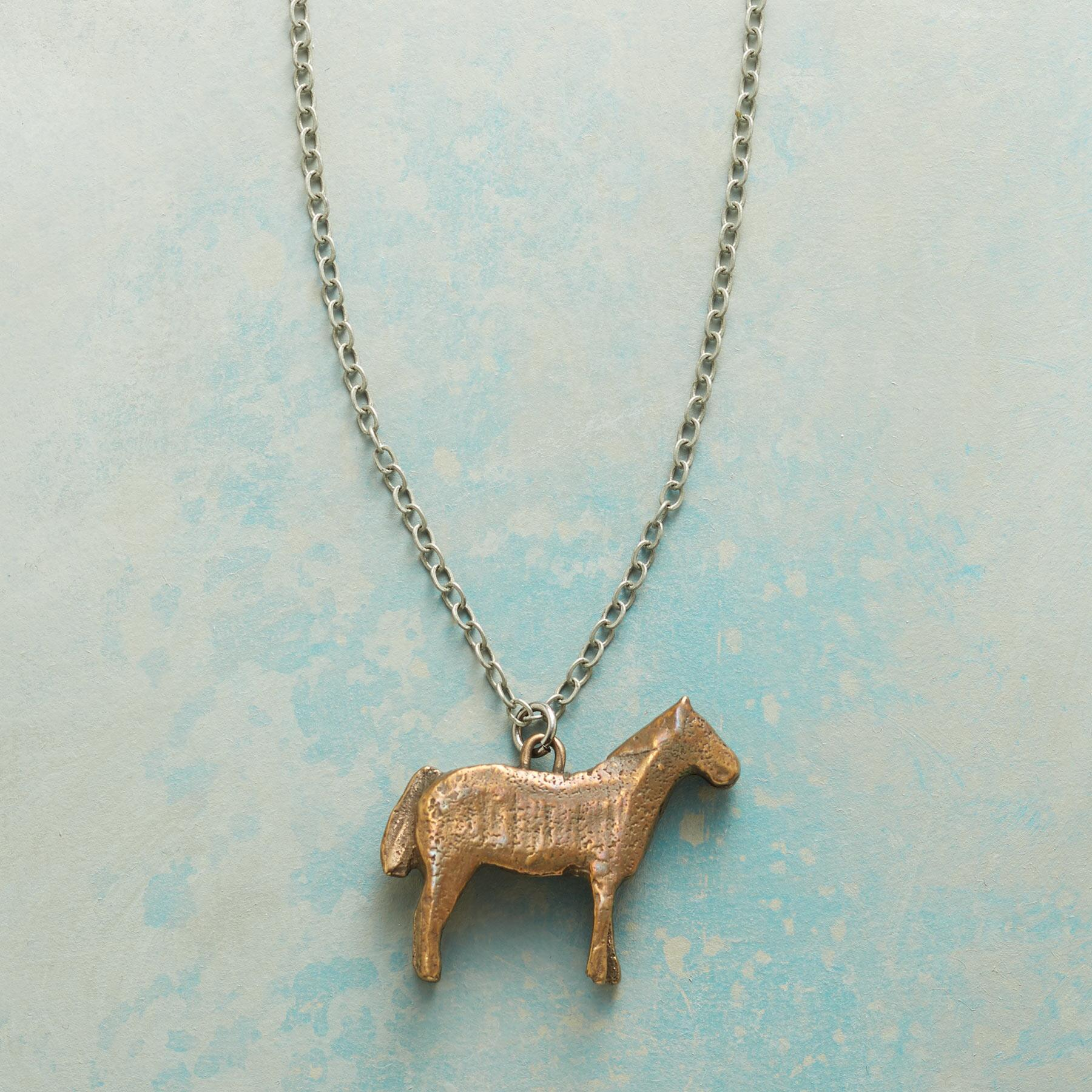 EQUINE NECKLACE: View 1