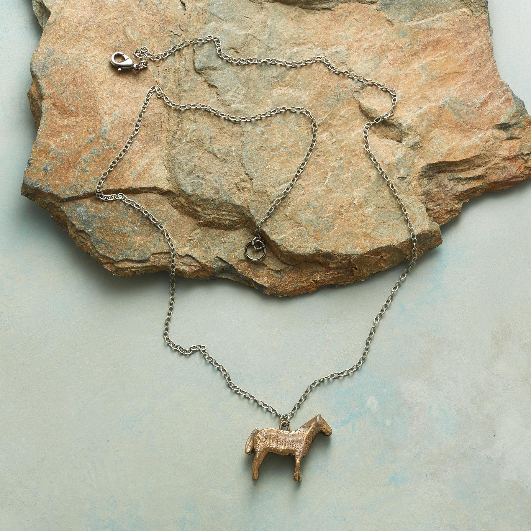 EQUINE NECKLACE: View 2